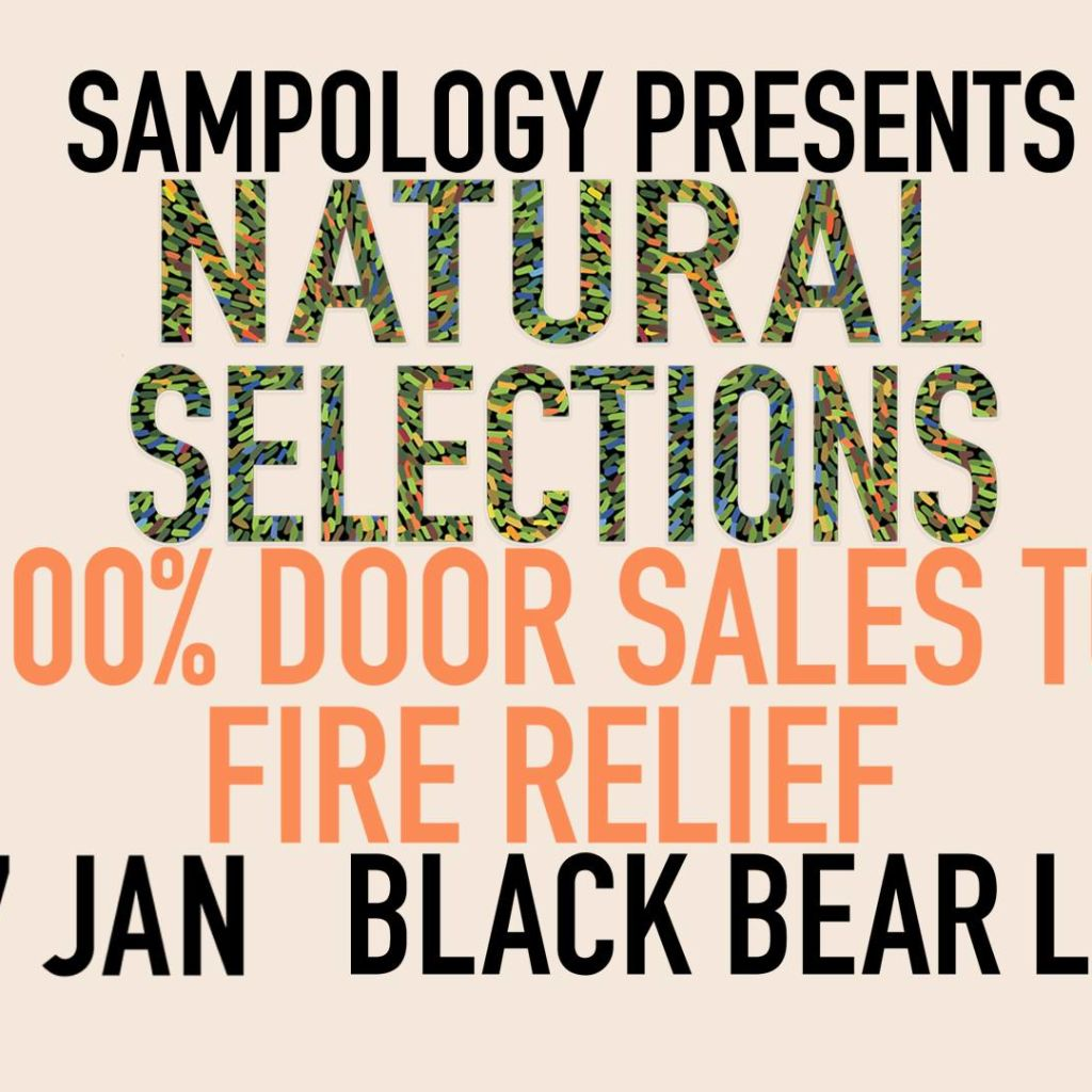 Sampology 'Natural Selections' - 100% proceeds to Fire Relief