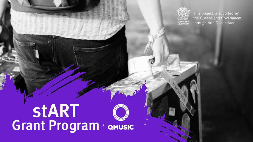 QMusic announces recipients of the Queensland Government's stART Music Grants