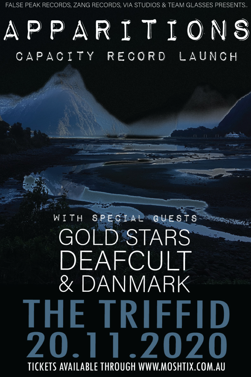 Apparitions with Gold Stars, Deafcult and Danmark